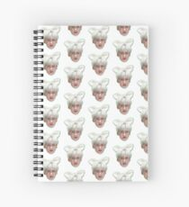 Yanan feat. Cat Ears Spiral Notebook
