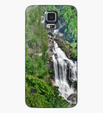 Upper Whitewater Falls NC Summertime Case/Skin for Samsung Galaxy