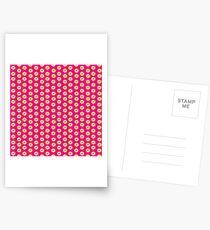 dots, dots and more dots pink Postcards