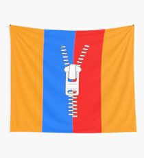 ZIPPER TWO Wall Tapestry