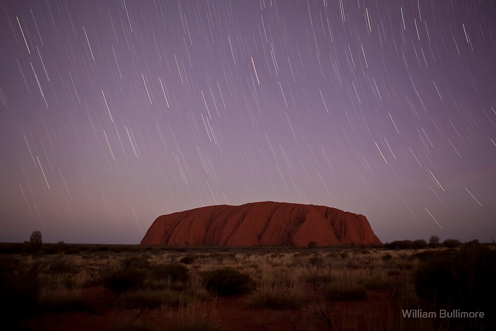 Uluru • Uluru-Kata Tjuta National Park • Australia by William Bullimore