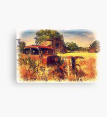Down on the  Family Farm Canvas Print