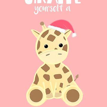 GIRAFFE yourself a Merry Little Christmas by JTBeginning-x