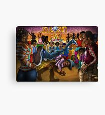 Goodtimes At Soul Train Canvas Print
