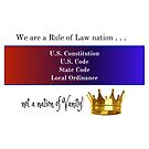 Rule of Law Nation by Redesign Your  Thinking LLC