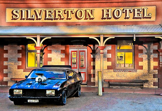 Mad Max's Car at Silverton Hotel  by Kate Miner