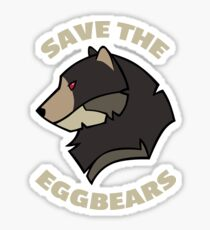 Save the Eggbears Sticker