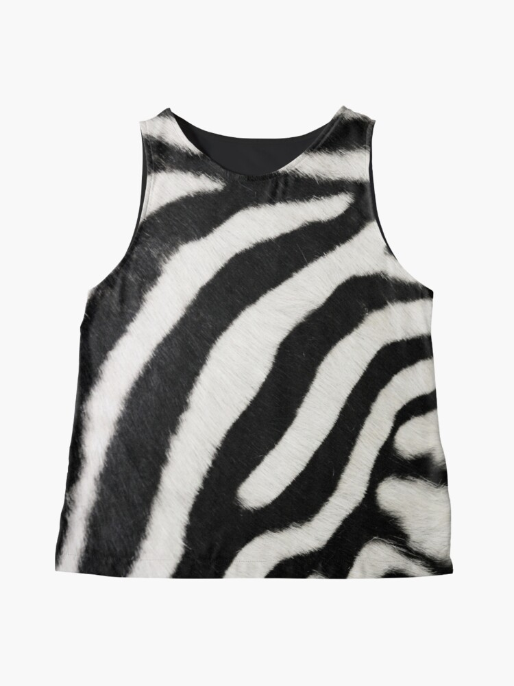 Alternate view of Zebra print  Contrast Tank