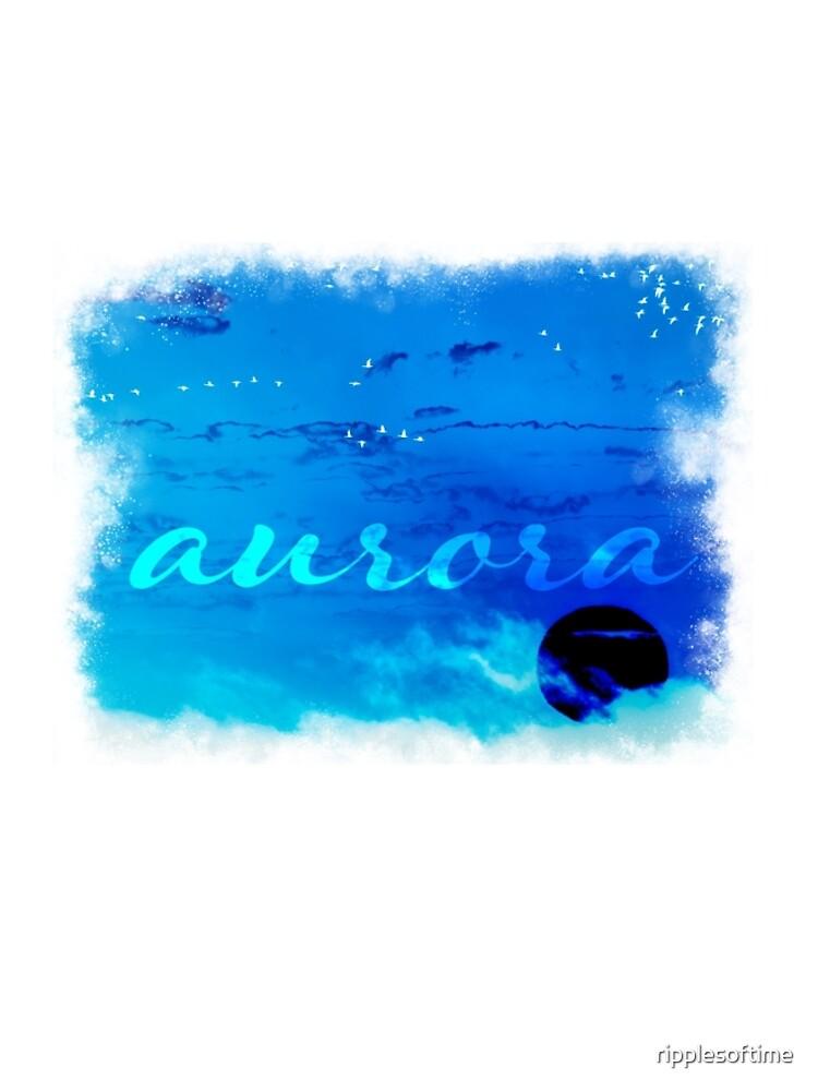 aurora by ripplesoftime