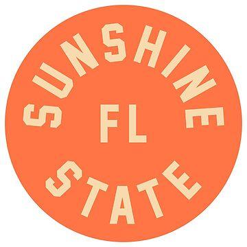 Sunshine State - Florida - Orange circle by JamesShannon