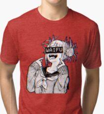 Toga Waifu Tri-blend T-Shirt