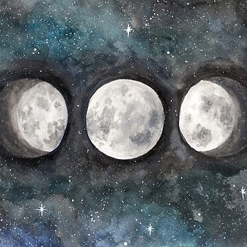 Moon Phrases ☾ by brittdreams