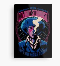 Cowboy Stardust Metallbild