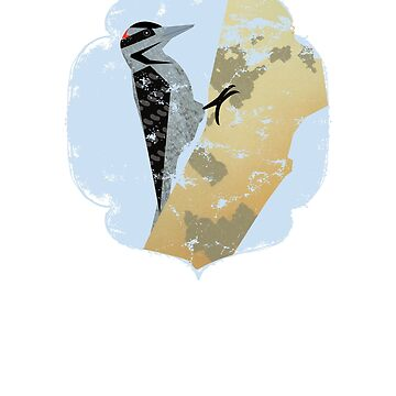 Great Spotted Woodpecker by LADGraphics