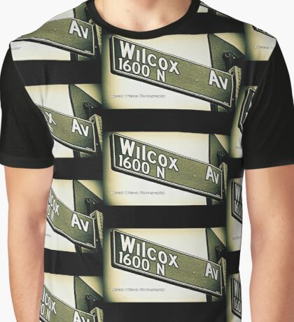 Wilcox Avenue1 Hollywood CA by Mistah Wilson Photography Graphic T-Shirt