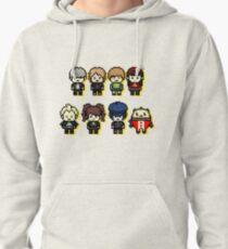 P4 Cast Pixel Art Pullover Hoodie