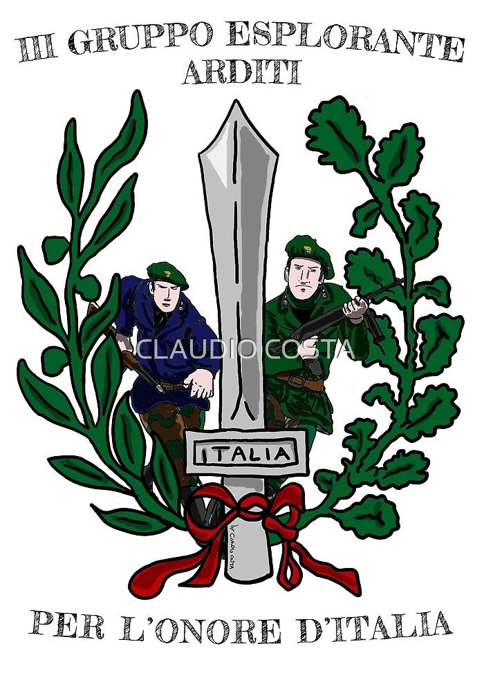 III Gruppo Esplorante Arditi Per l'Onore d'Italia by CLAUDIO COSTA