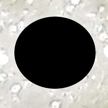 poka dot exeltranquility black white by Exeltranquility