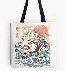 Sharkiri Sushi Tote Bag