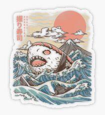 Sharkiri Sushi Transparent Sticker