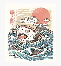 Sharkiri Sushi Fotodruck