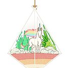 Unicorn Terrarium by alliemackie