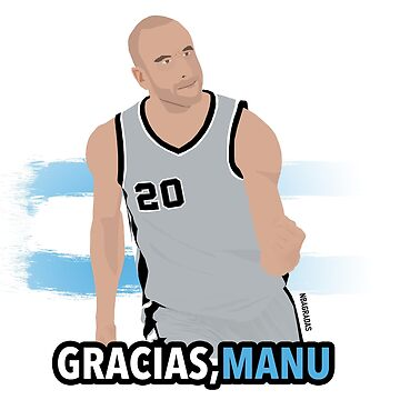 Manu Ginobili by nbagradas