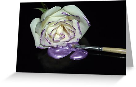 A Touch of Purple-The Painters Palette by SharonD