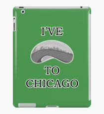 I've Bean To Chicago iPad Case/Skin