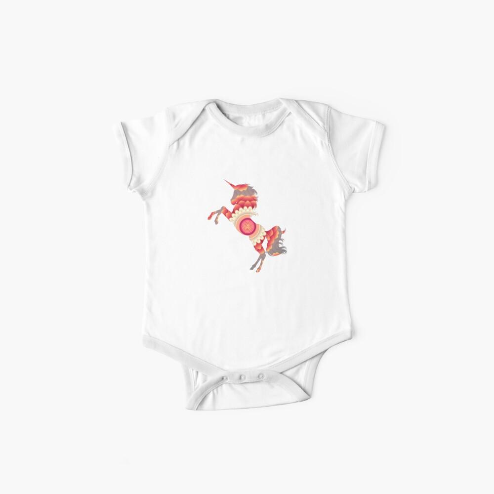 Spiral Einhorn Baby Bodys