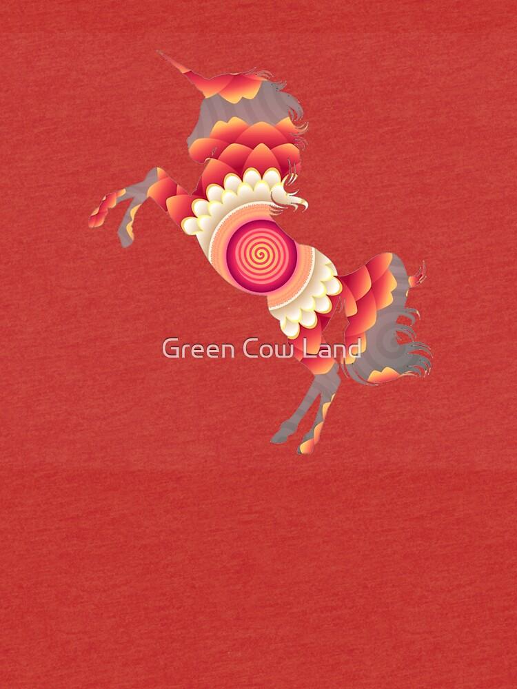 Spiral Einhorn von KaylinArt