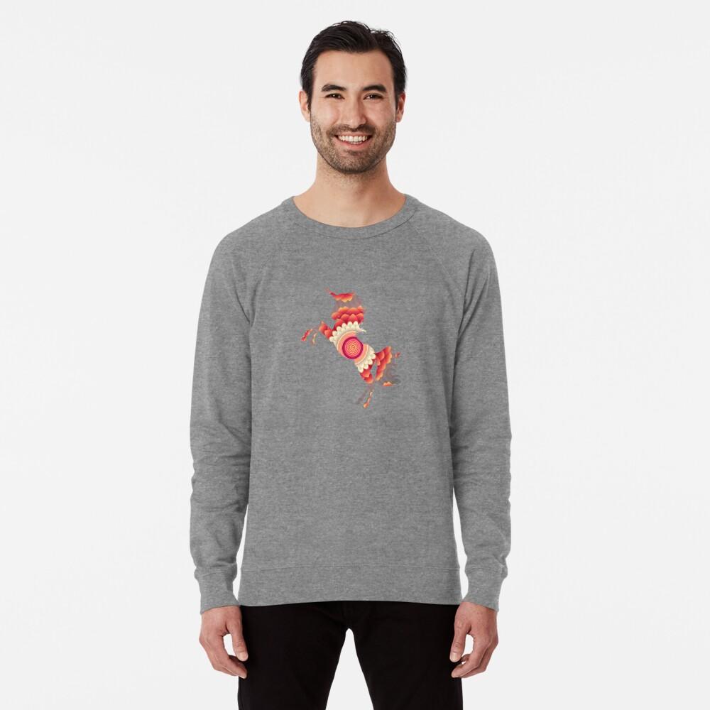 Spiral Einhorn Leichter Pullover