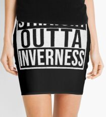 Straight Outta Inverness - Gift for Inverness Resident Mini Skirt