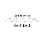 «Vamos a la playa, a la playa» de heyanna