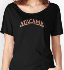 Camiseta ancha para mujer Desierto de Atacama Chile Tierra Pura 99fe07d69e6