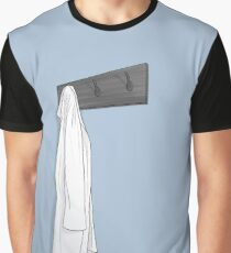 Simple Blue Lab Coat Graphic T-Shirt