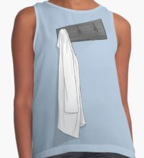 Simple Blue Lab Coat Contrast Tank