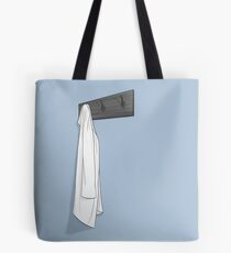 Simple Blue Lab Coat Tote Bag