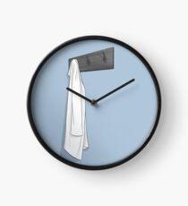 Simple Blue Lab Coat Clock