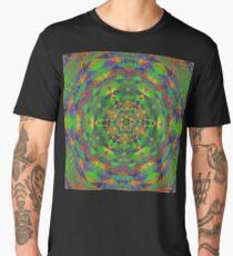 Colorful opaque kaleidoscope Men's Premium T-Shirt