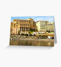 Genova Greeting Card