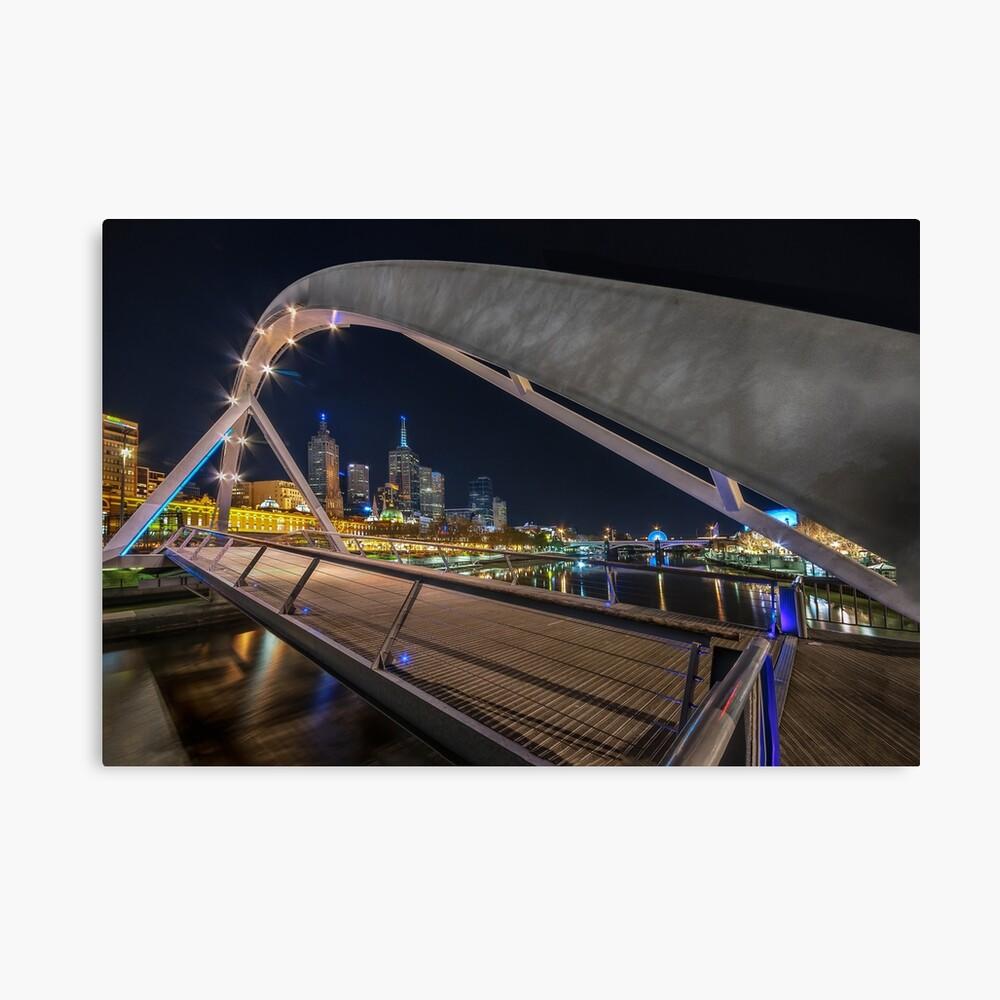 Southgate Bridge At Night  Canvas Print