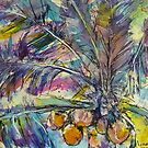 coconut palm by christine purtle