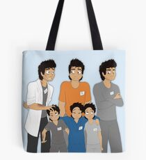 The Hopeless, Rose-Colored, and Original Subjects and Scientists Tote Bag