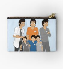 The Hopeless, Rose-Colored, and Original Subjects and Scientists Studio Pouch