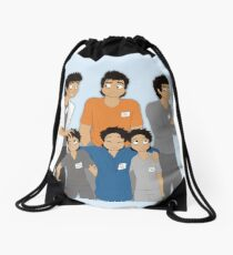 The Hopeless, Rose-Colored, and Original Subjects and Scientists Drawstring Bag