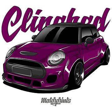 Clinched Cooper (purple) by MotorPrints