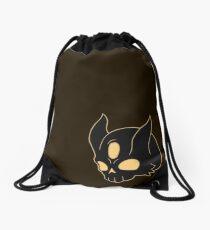 Black SKull Drawstring Bag