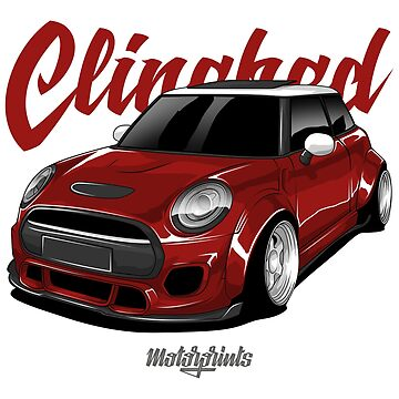 Clinched Cooper (red) by MotorPrints