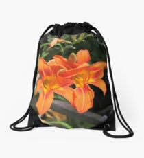 Hand in hand we were Drawstring Bag